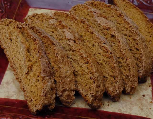 Pumpkin Spiced Biscotti | Rufus' Food And Spirits Guide Recipes | Pin ...