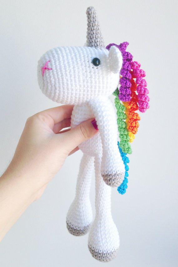Crochet Unicorn : Unicorn Crochet Plushie