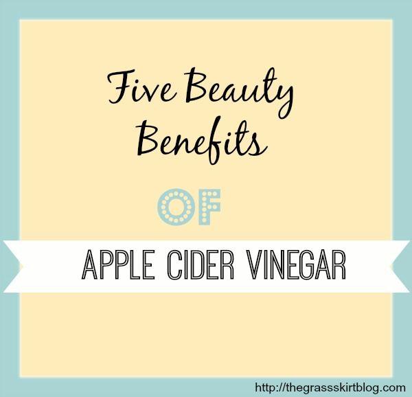 Beauty benefits of Apple Cider Vinegar