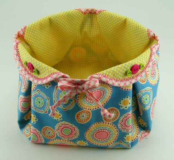 Fabric Baskets Patterns