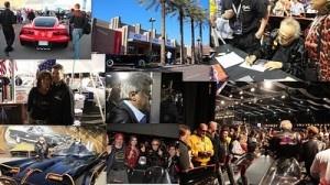 2013 Auctions Scottsdale- Jay Leno, Sara Palin, Batmobile