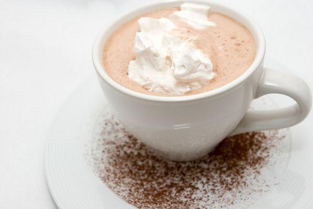 mexican hot chocolate (utilizing milk, cinnamon stick, vanilla bean ...