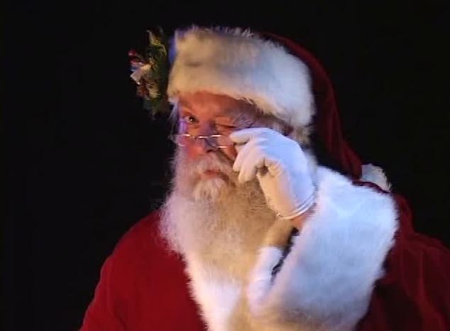 Santa Winking | VIRTUAL SANTA CLAUS | Pinterest