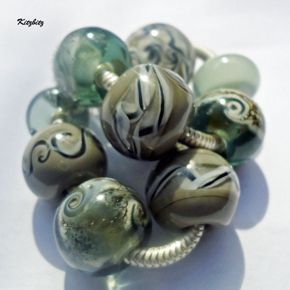 Silver Lining bracelet bead collection and 75 by BuzzwordBeads, £88.00