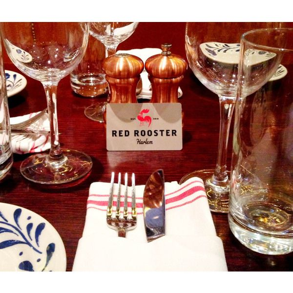 Restaurant Gift Card As Wedding Gift : Wedding registry gift idea: Gift Card to Red Rooster Restaurant in ...