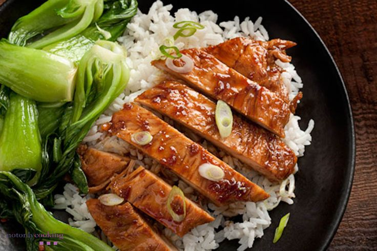 Teriyaky Bok-Choy Chicken with Rice | Favorite Recipes | Pinterest