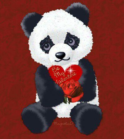teddy bear on valentine's day