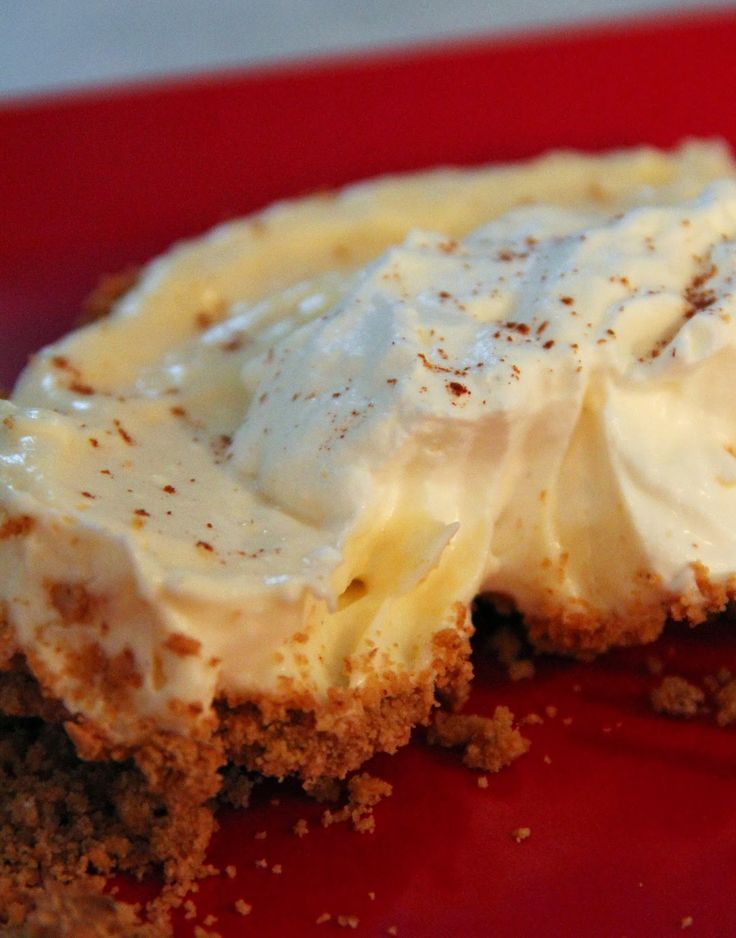 Eggnog Cheesecake Mousse Dessert | CHRISTMAS FEAST ~~~ | Pinterest