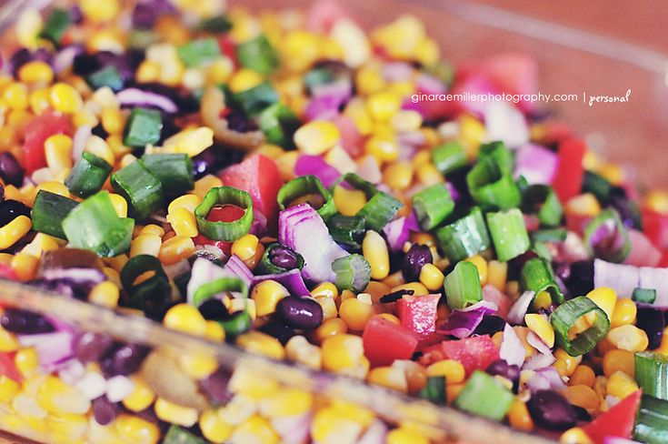 Corn & Black Bean Lime Salsa | Recipes - Appetizers / Hors D'oeuvres ...