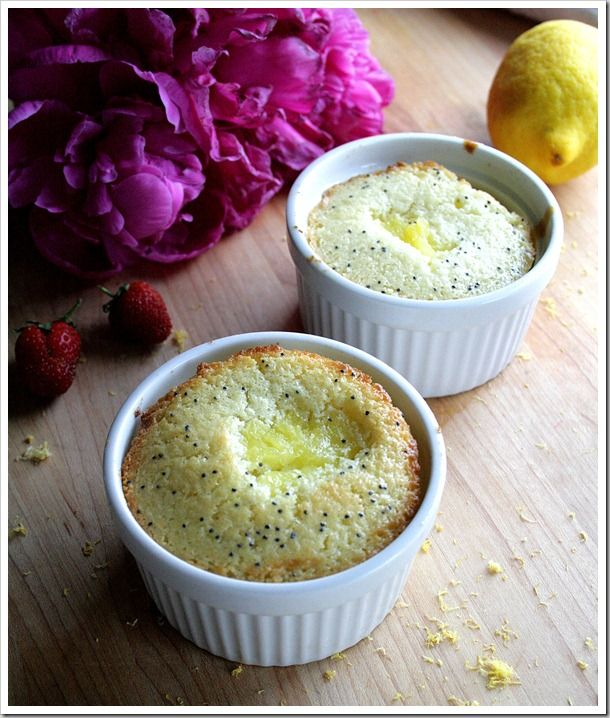 lemon poppy seed pie popovers | Food | Pinterest