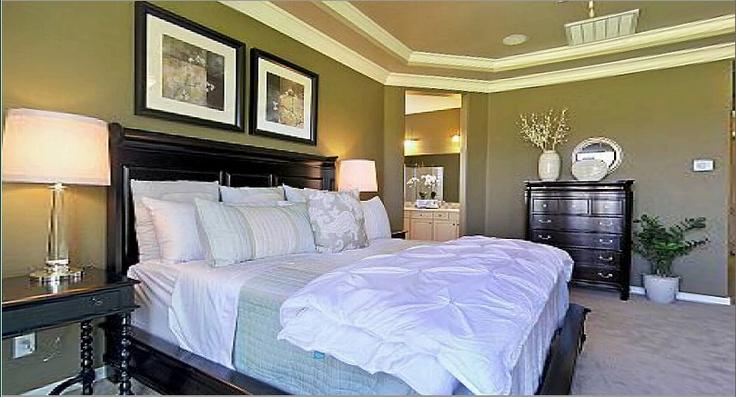 Model Home Master Bedroom Dream Home Designs Pinterest