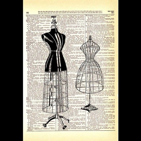Reminds me of my antique dressmaker dummy beluah which i gave to my