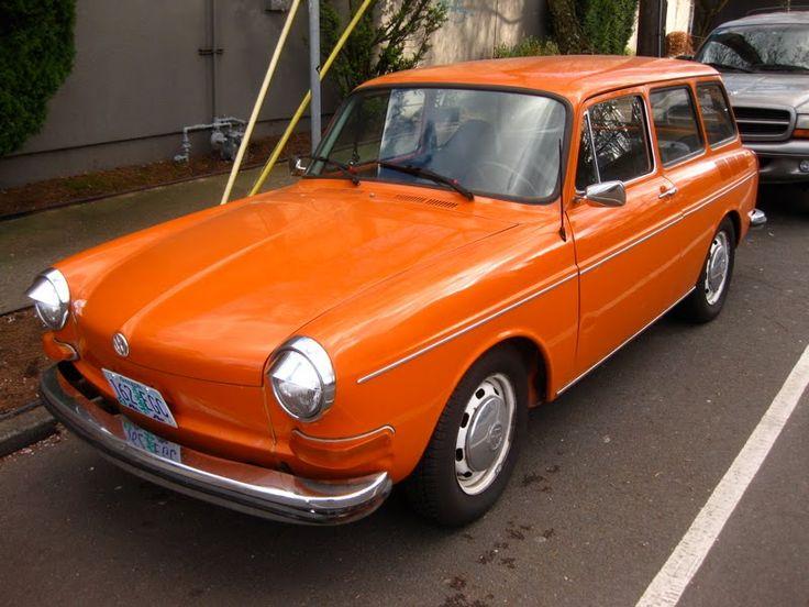 1970 Volkswagen Type 3 1500 Variant Squareback Wagon