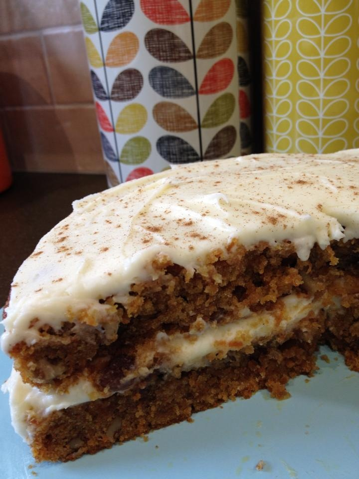 Carrot cake by Sarah's Farmhouse Fancies | Foods I would like to try ...