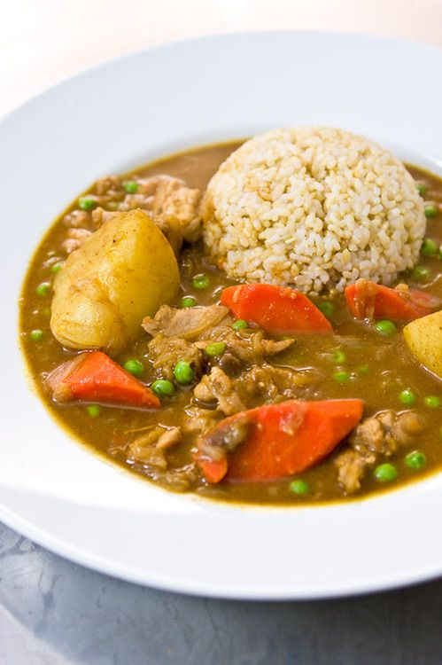 Japanese chicken curry and rice | Food | Pinterest