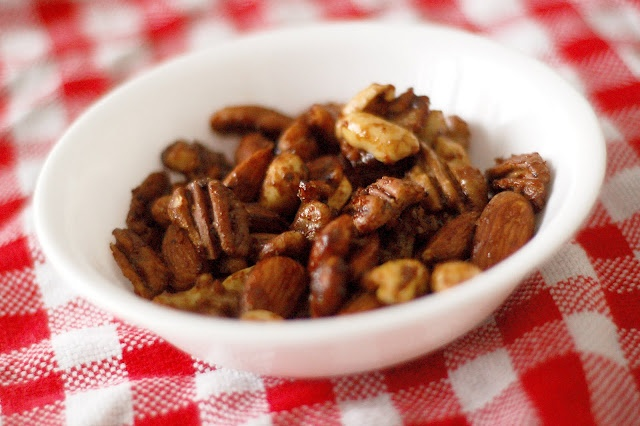 Spicy Candied Nuts | Christmas | Pinterest
