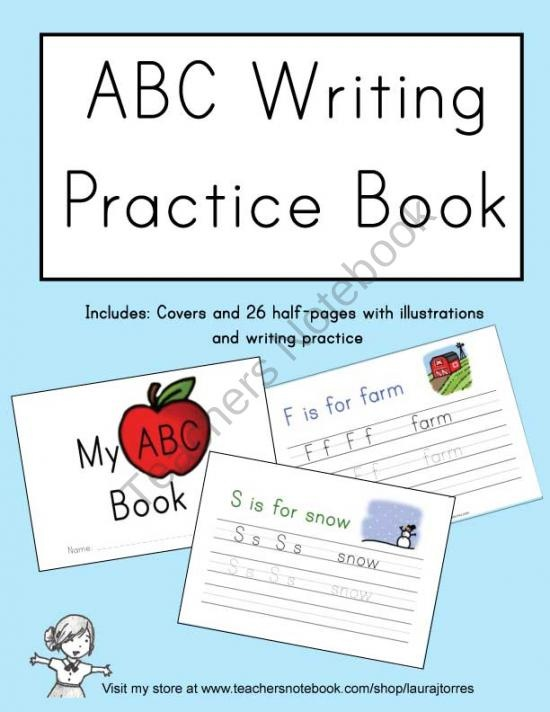 Pin Alphabet Writing Practice Sheets For Preschoolers