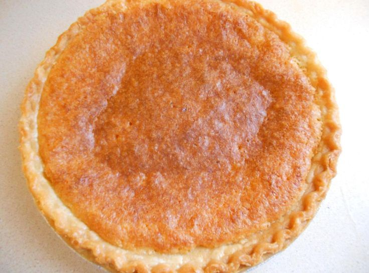Chess Pie. | And More Recipes too! | Pinterest