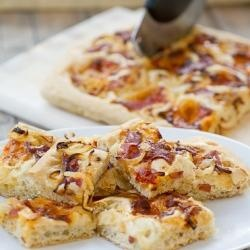 Southern-Style Focaccia | Appetizers | Pinterest