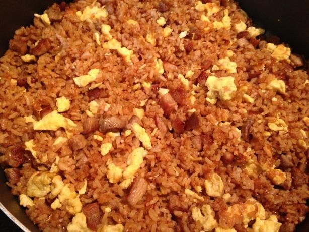 Pork fried rice - great basic recipe, feel free to substitute! We omit ...