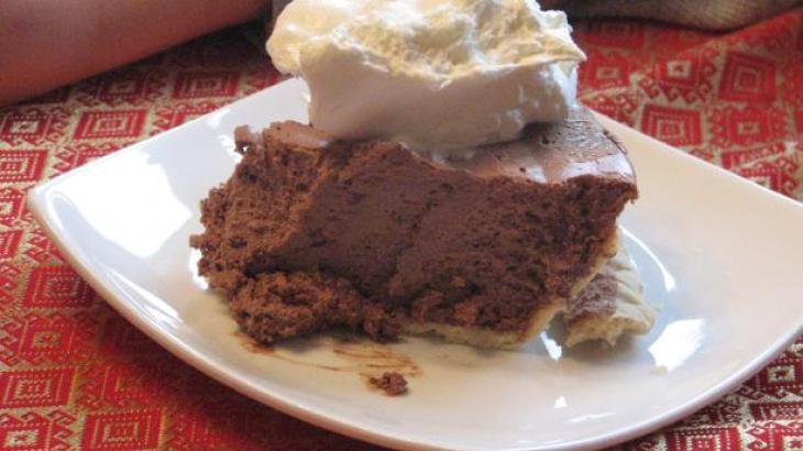 Mile-High Chocolate Cream Cheese Pie | Chocolate Goodness | Pinterest