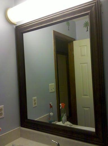 Updating Bathroom Mirrors Washrooms Pinterest