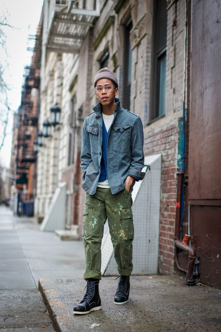 Painter's Pants Ridin That Workwear Trend, Like... | Closet Freaks | Menswear Blog By Anthony Urbano