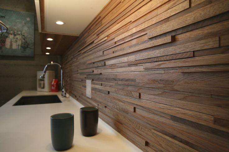 Wooden backsplash ideas uk