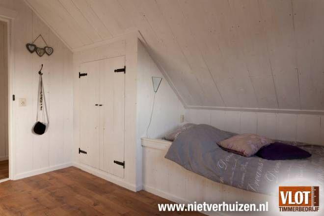 Slaapkamer Onder Het Dak : slaapkamer schuin dak : slaapkamer met schuine dak mooie slaapkamer