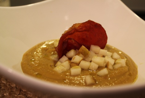 ... Chestnut Soup with Pear & Crispy Prosciutto - Paleo Recipe Sharing
