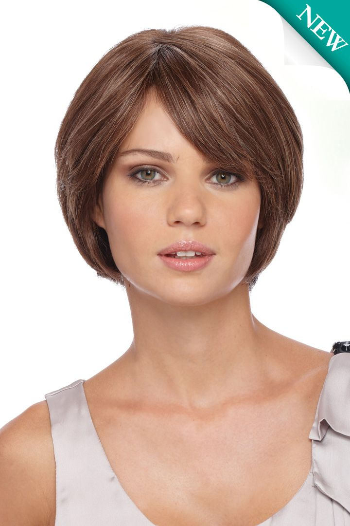 graduated bob with side swept bangs   hair styles, health ...