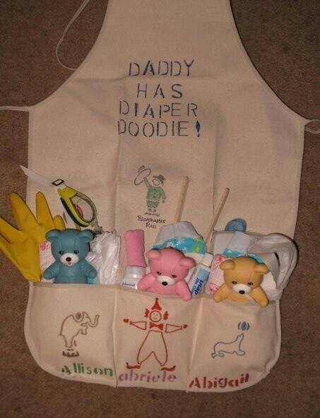 Baby Gift Ideas For Dad : Great baby gift for dad shower ideas