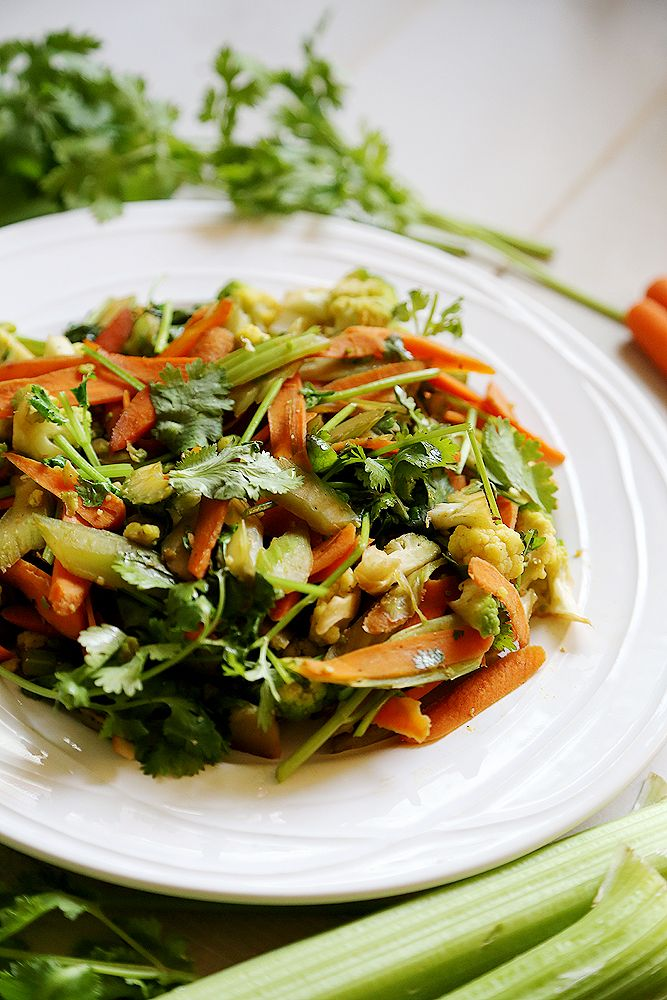 Celery and Carrot Stir Fry | Food | Pinterest