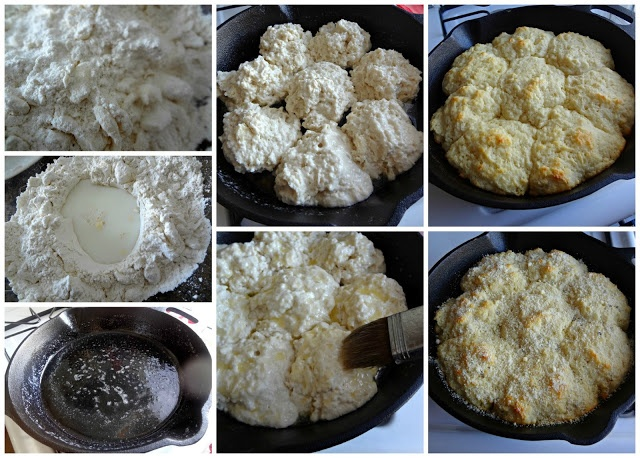 Cheese Drop Biscuits Recipe — Dishmaps