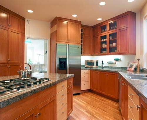kitchens white cabinets yellow walls  Kitchens Cabinets  Pinterest