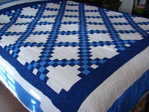 Quilt Pattern For Double Irish Chain : Irish Chain Quilt quilting Pinterest