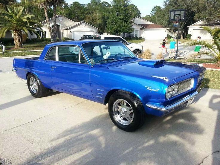 63 Pontiac Tempest Cool Cars Pinterest