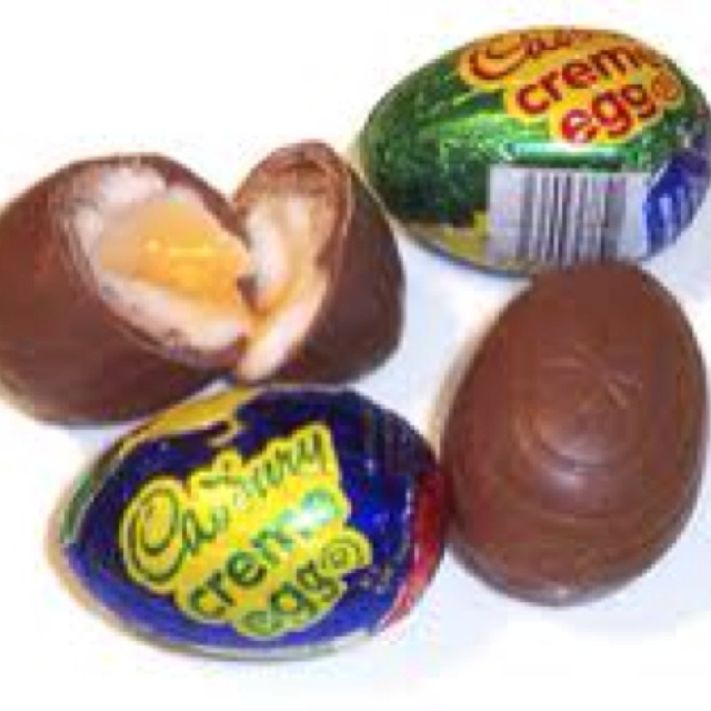 Cadbury cream egg - my absolute favorite Easter candy. I'm so glad it ...