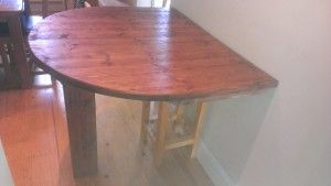 bespoke half round dining table   Kitchen Tables for Small ...