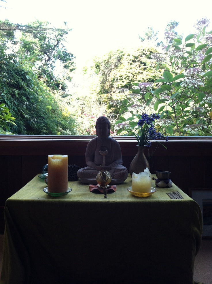 diy meditation area for the home pinterest