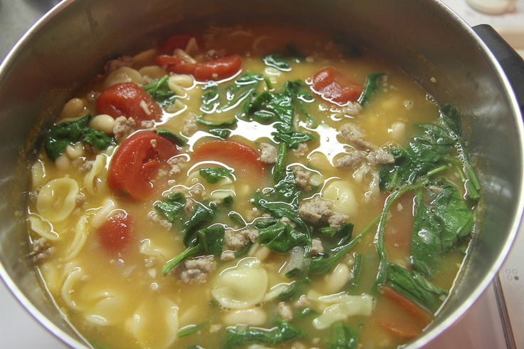 Hearty Italian Sausage Soup | Recipes I Want to Try | Pinterest