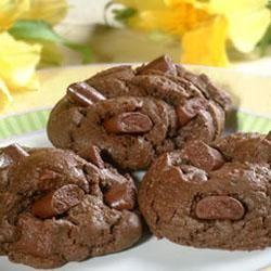 Double Chocolate Chunk Cookies (everybody loved these, even without ...