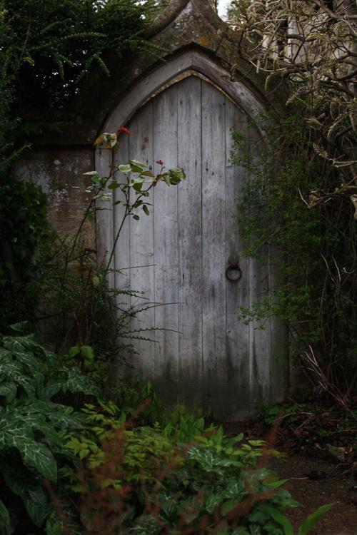 Hidden door. secret garden Pinterest