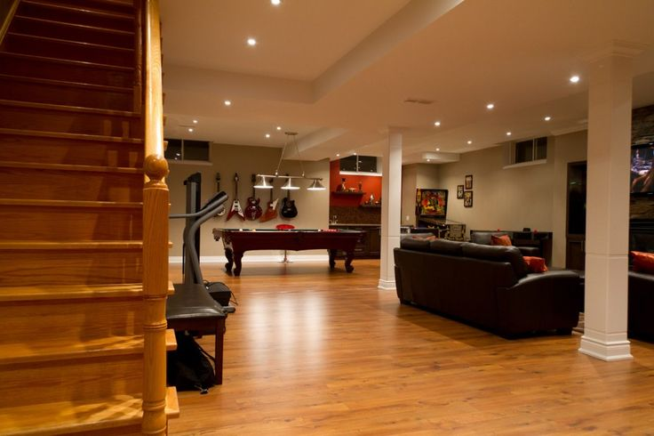Basement Decor Ideas Delectable Inspiration