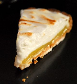 Lime Meringue Tart slice | Cheesecakes, pastry tarts | Pinterest