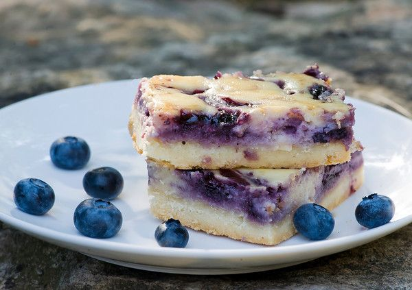 Blueberry Cheesecake Squares Recipe | Favorite Recipes | Pinterest