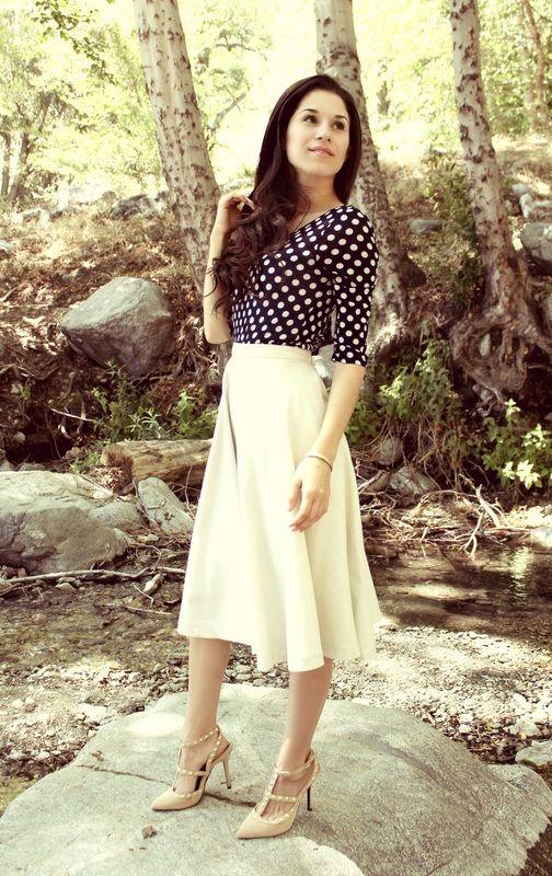 Modest Beauty: Meet Stephanie   {Preppy Tendencies}   Pinterest