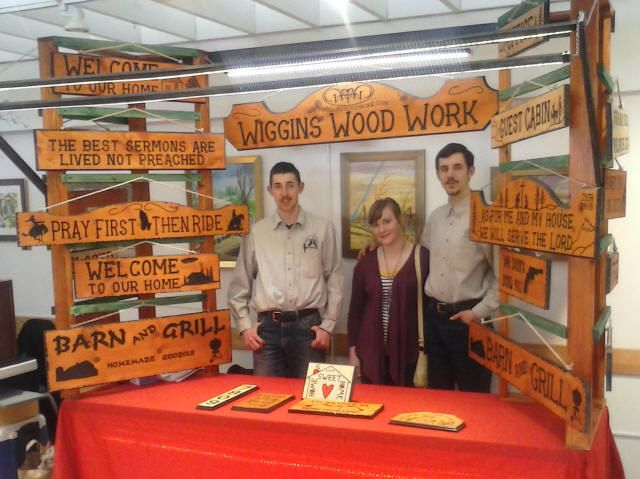 Pin by john wiggins on wood signs pinterest for How to display wood signs at craft show