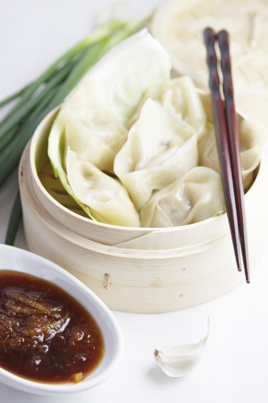 Inside-Out Pork Dumplings Recipe — Dishmaps