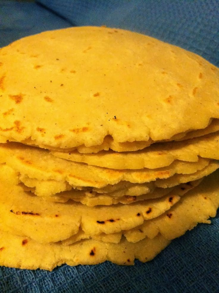 Homemade Corn Tortillas | TORTILLAS | Pinterest